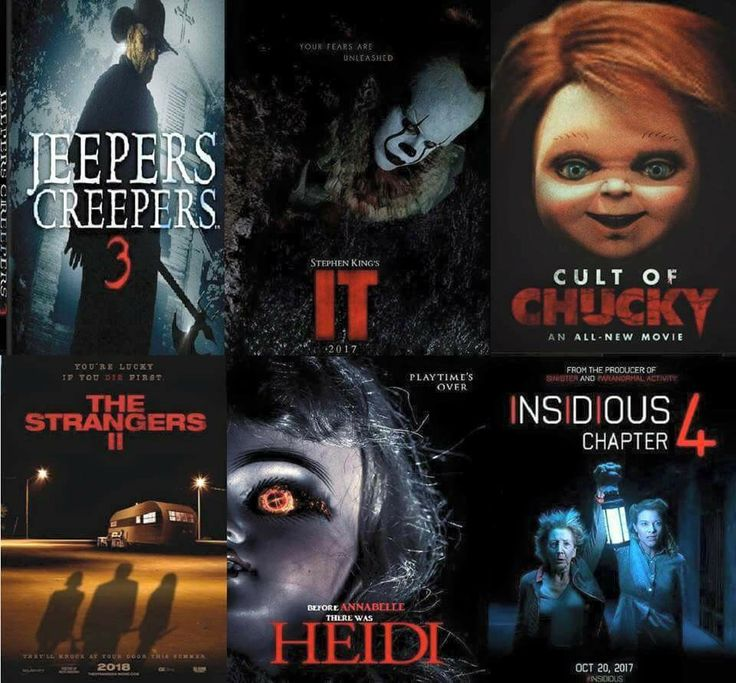 Horror movies coming out  this year!
