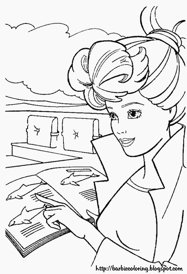 25 Best Ideas About Barbie Coloring Pages On Pinterest