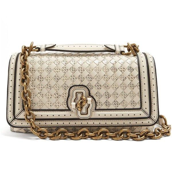 c21d32ff13ab Olimpia Knot intrecciato-leather cross-body bag Bottega Veneta... ( 4