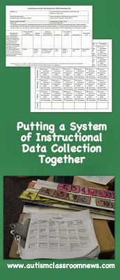 Autism Classroom News: http://www.autismclassroomnews.com Putting a System of Instructional Data Collection Together by Autism Classroom News: http://www.autismclassroomnews.com