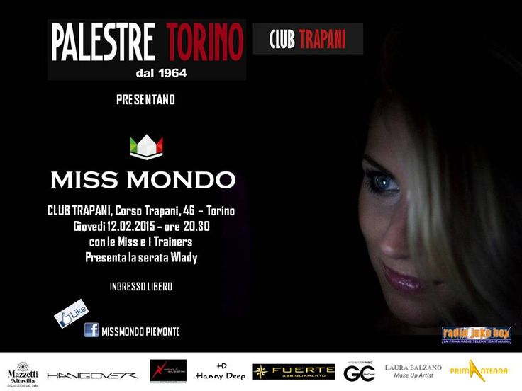 MISS MONDO SERATA DEL 12/02/2014