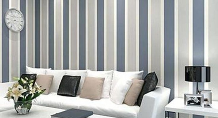 30 Most Attractive Striped Living Room Wall Paint Styles Striped