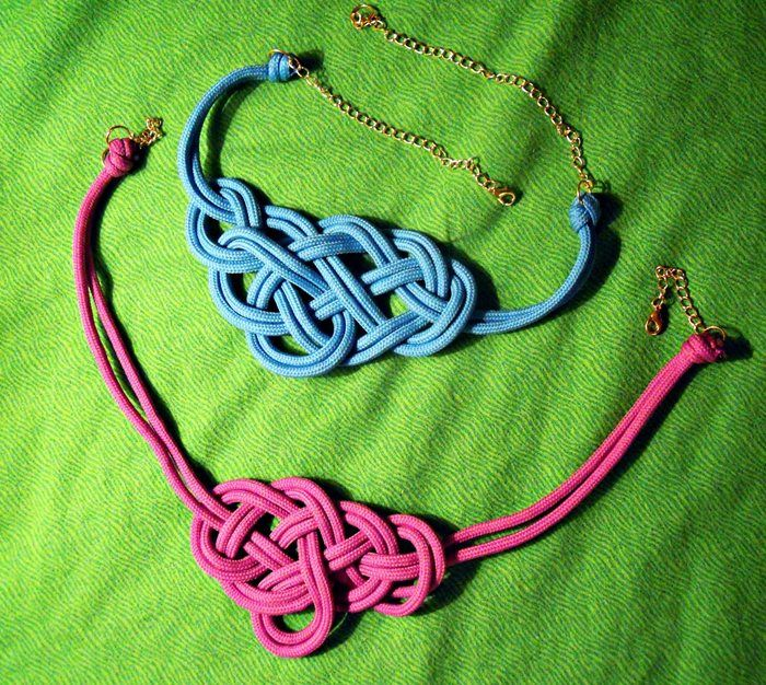 Collar de nudos marineros paso a paso!!!: Diy Ideas, Diy Collars, Neon, Diy Jewelry, Nudos Marinero, Pulseras Collars, Knots Jewelry, Crafts, Collars De Nudos