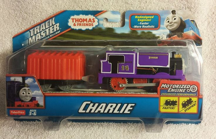 Thomas The Train Trackmaster Charlie Motorized Enhanced