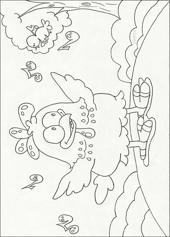 Galinha Pintadinha figura para colorir gratis | Desenhos para colorir