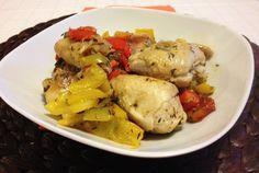 Il #pollo con #peperoni è un #secondo piatto da gustare per #pranzo o #cena. E' un piatto semplice da preparare ma gustoso.