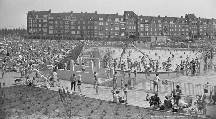 Spaarndammerdijk Amsterdam (jaartal: 1960 tot 1970) - Foto's SERC