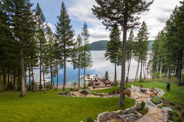 Julia Roberts's Former Montana Lake House Is Selling for $12 Million Photos | Architectural Digest