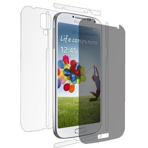 Set for (Anti-glare) Samsung Galaxy S4 I9500 Full Body Front +Back ...