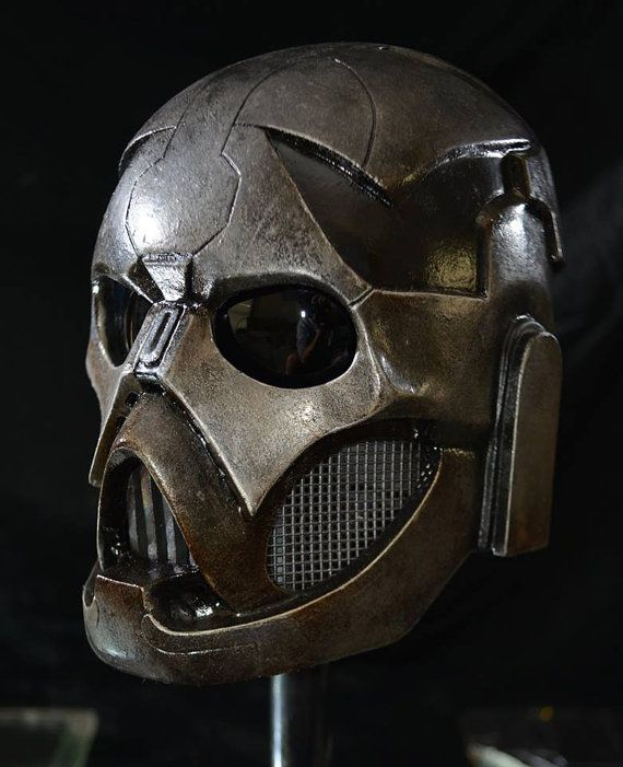 Here's a helmet for the times you wish for other's to stay away from you. They'll be too terrified to come at you.