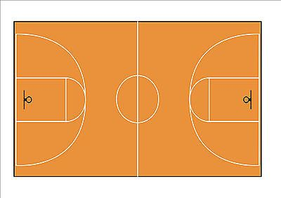 #Novelty basketball #court background a4 #edible icing cake topper birthday sport,  View more on the LINK: http://www.zeppy.io/product/gb/2/161822820640/