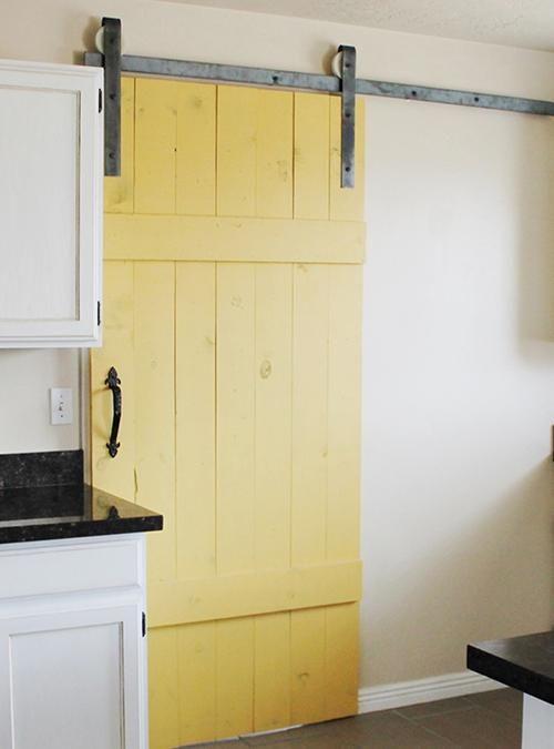 Porta scorrevole Barn Doors Yellow 90x210 - Disponibile anche su misura