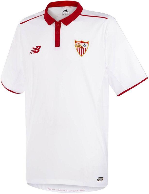 New Balance lança a nova camisa titular do Sevilla - Show de Camisas