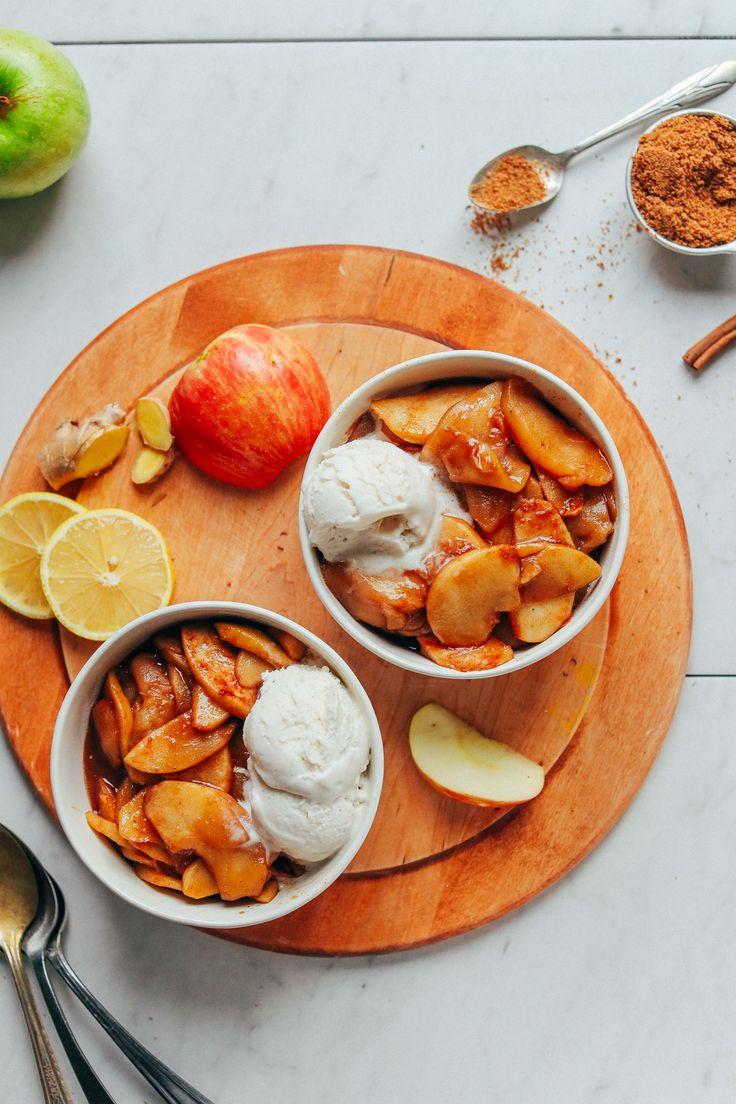 Cinnamon Baked Apples | Minimalist Baker Recipes