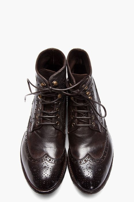 Best 25 Oxford Boots Ideas On Pinterest Oxfords Brown
