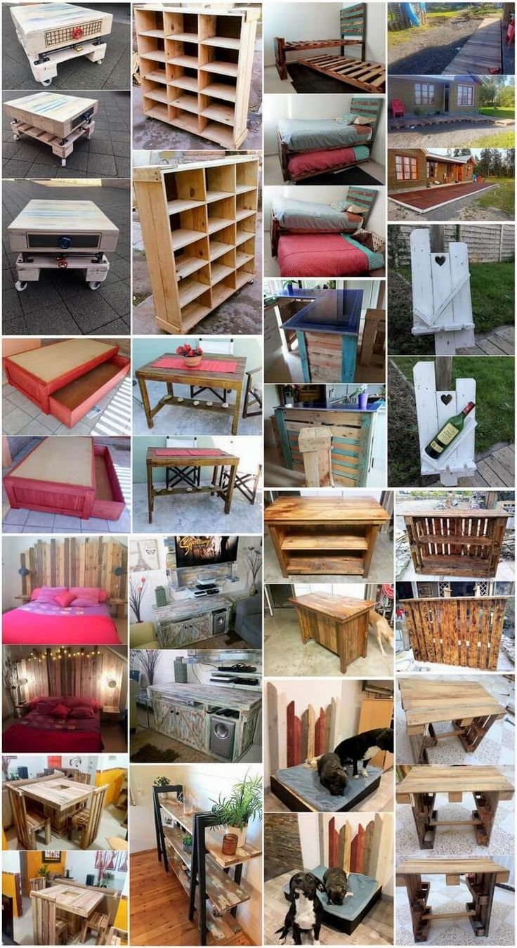 Creative Ideas and Ways to Reuse Old Shipping Pallets