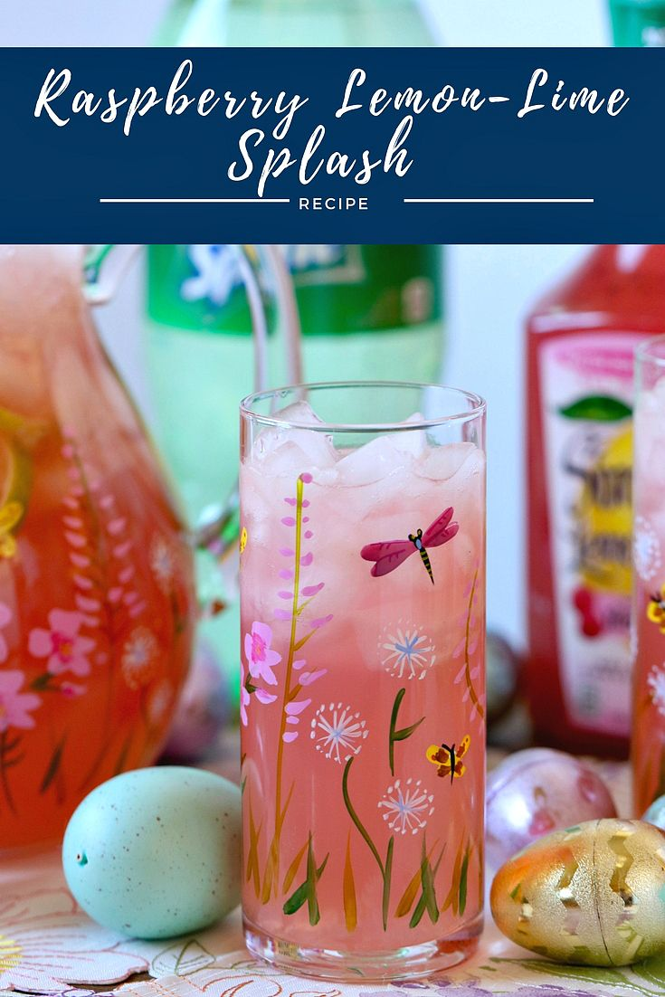 This Simply Easy Raspberry Lemon-Lime Splash is absolutely delicious! Get everything you need for Easter Brunch @SamsClub. @SheSpeaksUp #SeasonalSipsAtSams #ad