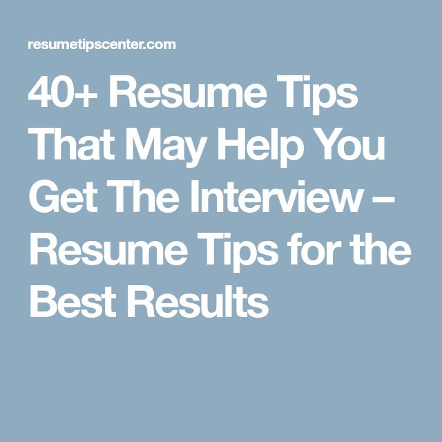 Best 25+ Resume tips ideas on Pinterest Resume, Resume ideas and - how to improve your resume