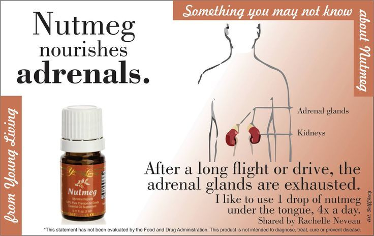 Nutmeg essential oil #youngliving #oilyfamilies help for your adrenal gland