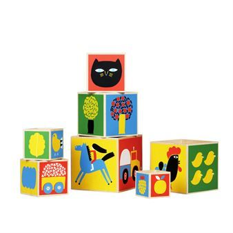 Raitti boxes designed by Aino-Maija Metsola from Marimekko.