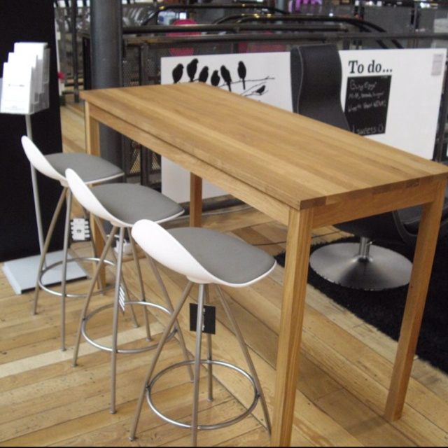 Loving This Gorgeous Oak High Table And Stua Stools. Available From  @funktionalley @Redbrick_Mill
