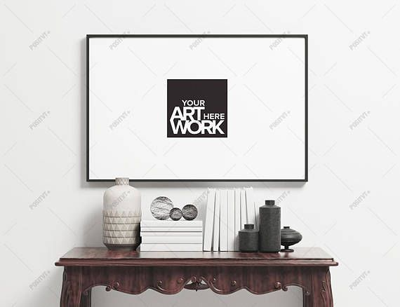 Poster Frame Photography Style / Frame Mockup / Poster Mockup
