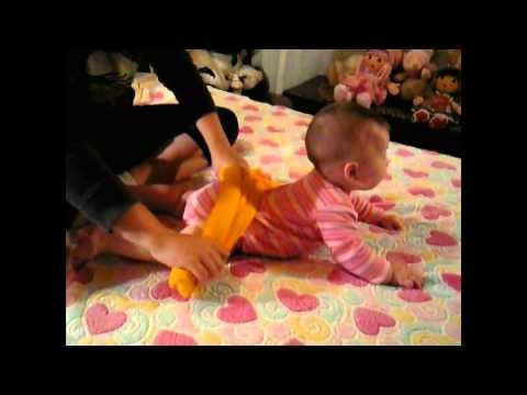Estimulación para bebés de 5 meses