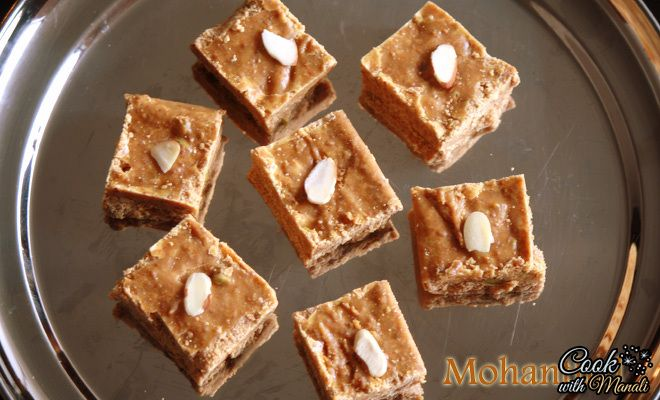 Mohanthal Recipe - How To Make Mohanthal - Cook With Manali