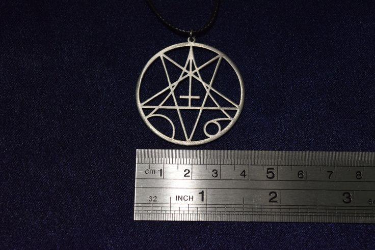 Morbid Angel  Necklace Pendant logo symbol death metal by PrinceSymbol on Etsy