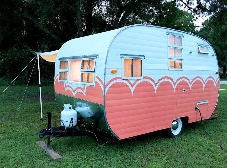 321 Best Caravan Outside Images On Pinterest