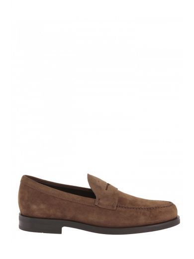 TOD'S Tod's Mocassino In Pelle Scamosciata. #tods #shoes #tods-mocassino-pelle-scamosciata