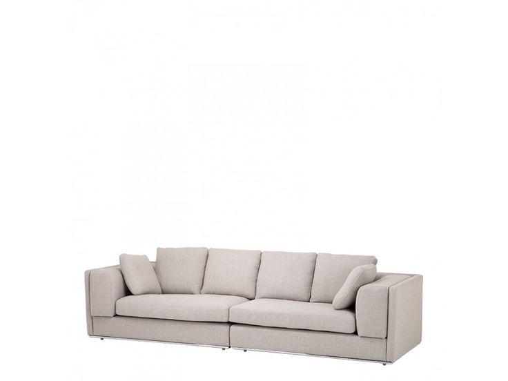 Sofa Vermont beżowa — Sofy Eichholtz® — sfmeble.pl
