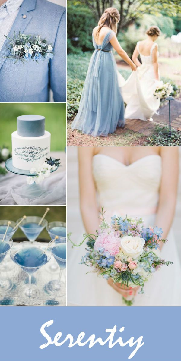 Top 10 Wedding Color Palettes In Shades Of Blue Part Two