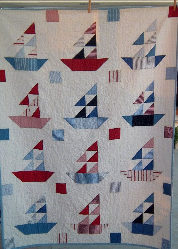 17 Best Images About Quilts Sailboats And Nautical On