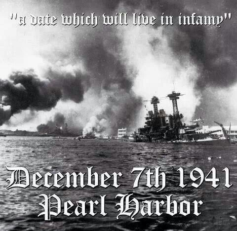 Pearl Harbor, Hawaii  - A sneak attack, (as was 9-11); December 7, 1941. a date which will live in infamy.