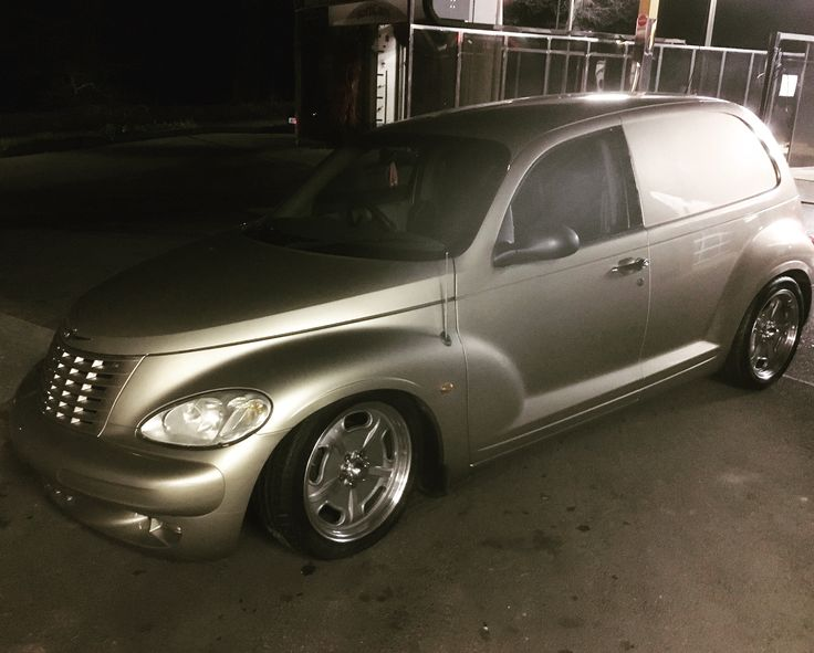 Pt cruiser panel van retro wagon stanced bagged jbw wheels