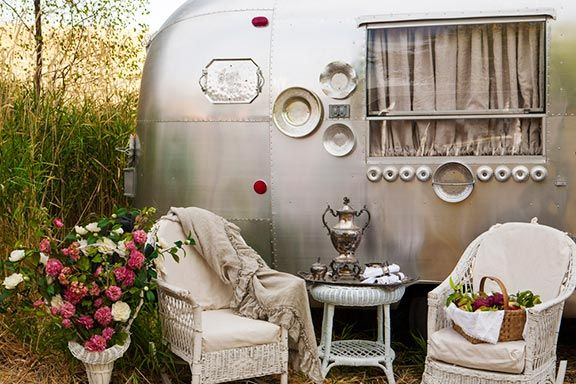 Airstream restoration - outside view