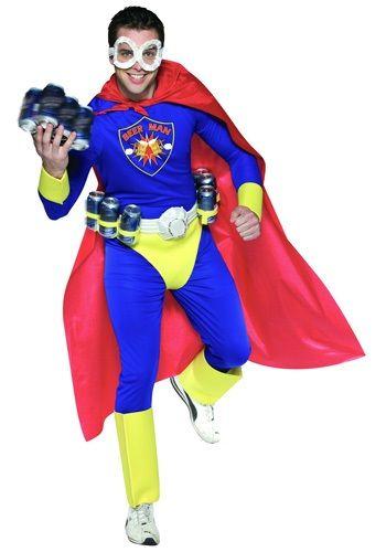 Beer Man Adult Costume - Novelty Halloween Costumes
