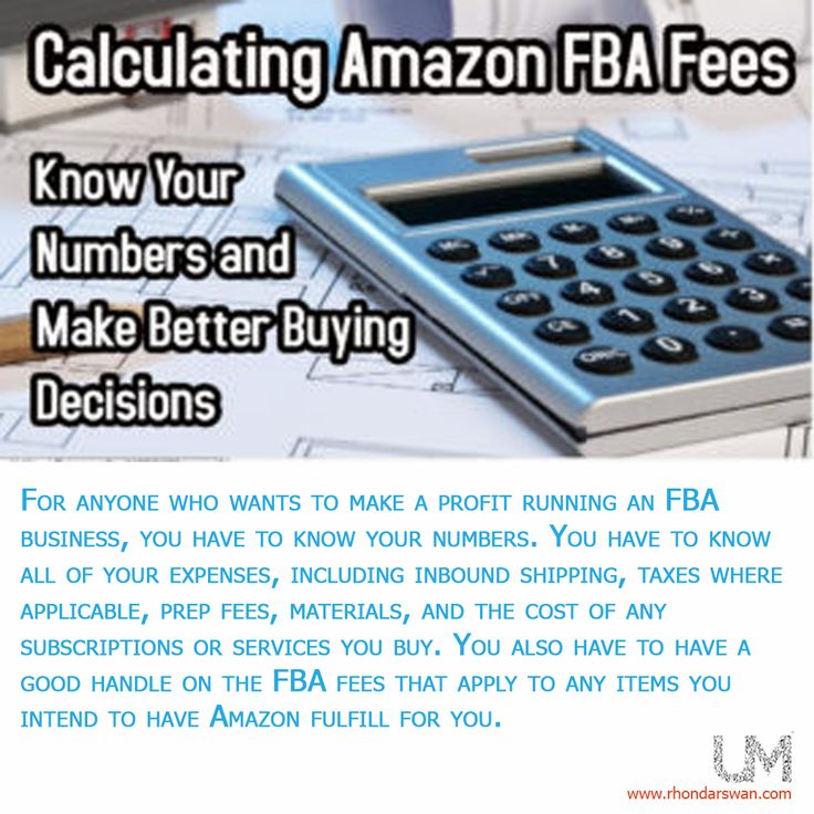 For anyone who wants to make a profit running an FBA business, you have to know your numbers. You have to know all of your expenses, including inbound shipping, taxes where applicable, prep fees and etc. #BeUnstoppable #mediaandthecity #brandit #UnstoppableMomma #Entrepreneur #PersonalBranding #SocialMediaStrategist #HowToPersonallyBrandYou #HowToBecomeAnAuthorityInYourNiche #OnlineMarketingStrategiesForNewbies #PersonalBrandingStrategy