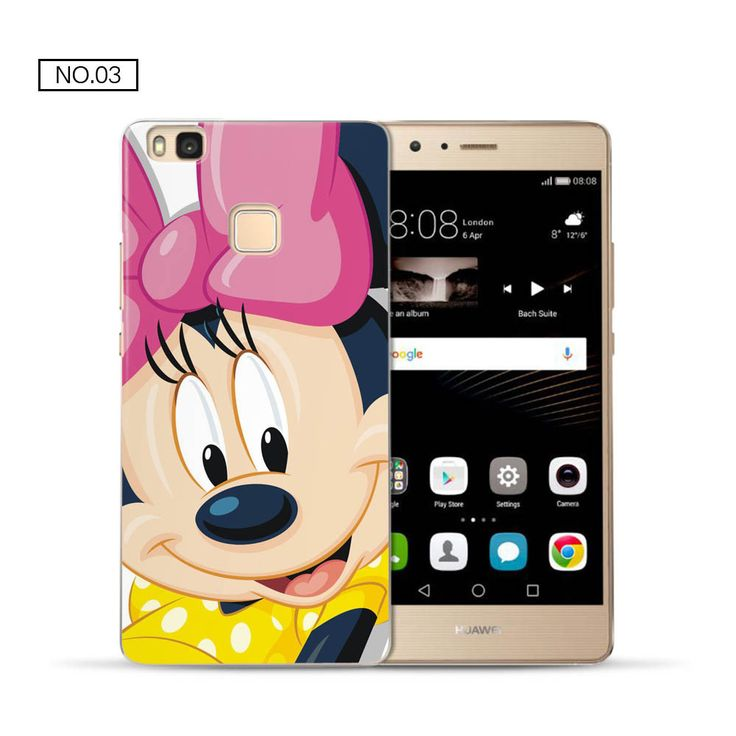 For P9 lite case cute cartoon hard PC back cover for fundas Huawei P9 lite case 2016 new arrivals coque for Huawei P9 lite