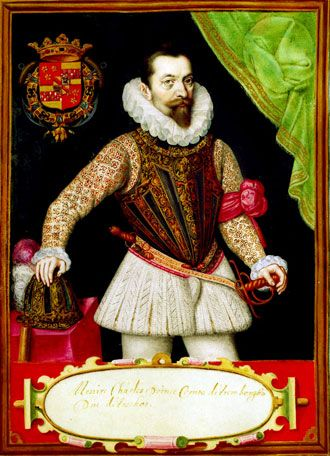 Charles d'Arenberg (1550-1616), second sovereign prince of Arenberg. Married Anne de Croy in 1587. Soldier and diplomat. Arenberg Foundation