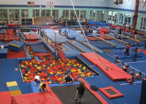 Join a gymnastic's gym