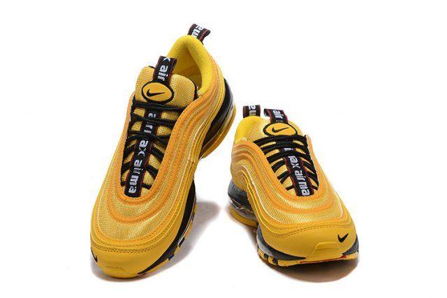 Nike Air Max 97 Premium Yellow Black