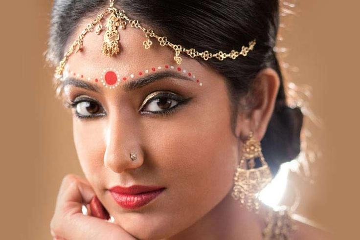 The Enchanting Bengali Bride  #BeautifulBrides