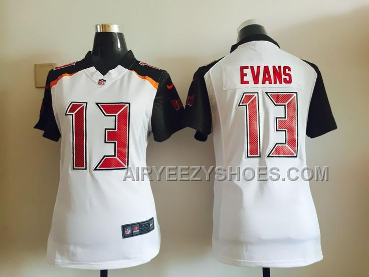e80c8f5b1dc ... Tampa Bay Buccaneers 13 Evans Grey Vapor Nike Buccaneers Mike Evans  White Womens Stitched NFL New Elite Jersey And Broncos Aqib Talib 21 ...