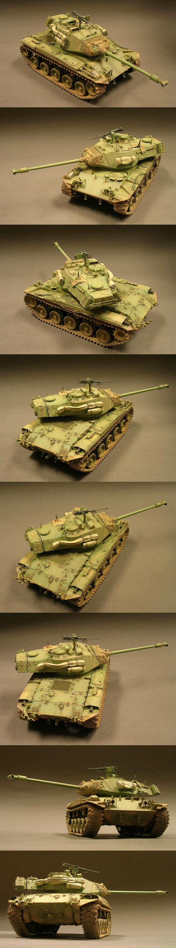 M41A3 Walker Bulldog 1/35 Scale Model