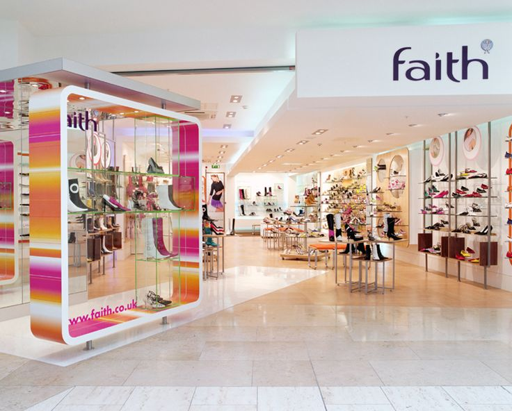 Faith - an archive shot of a faith store completed by into lighting