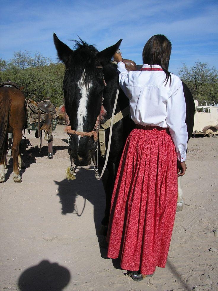 Split skirt (culottes) for horseback riding | Sewing N ...