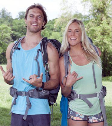 Bethany Hamilton and husband, Adam Dirks, take on the Amazing Race!