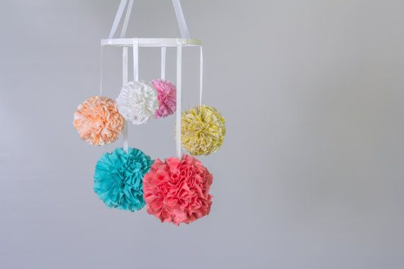 25 Best Ideas About Hanging Pom Poms On Pinterest